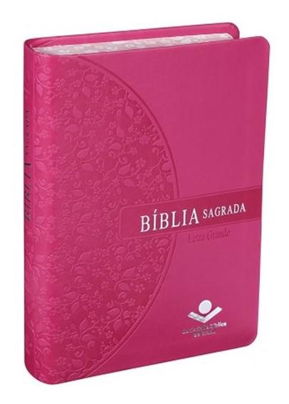 Bíblia Pequena Letra Grande - Revista E Atualizada