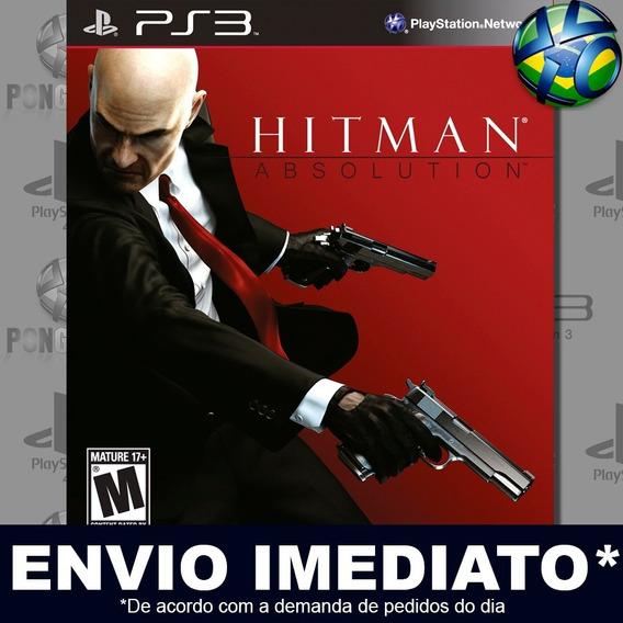 Hitman Absolution Special Edition Ps3 Psn Jogo Em Promoção