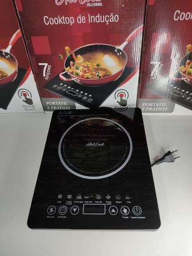 Cooktop Fogão Indução Elétrico Portátil Touch Fogão 1 Boca