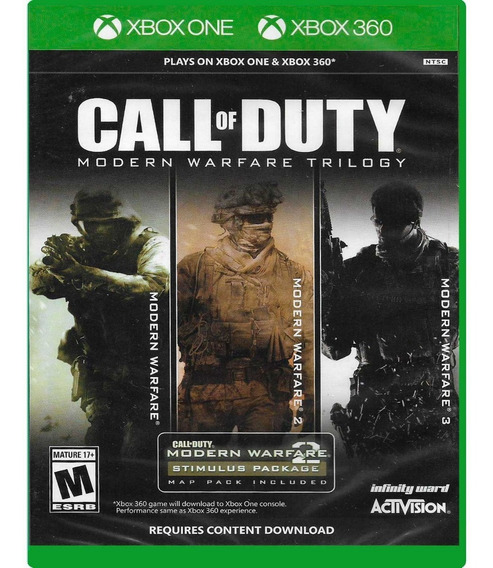 Call Of Duty Modern Warfare Trilogy Xbox One/xbox 360