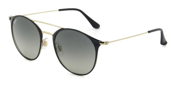 Óculos Ray Ban Rb3546 187/71 52 Round - Lente 52mm