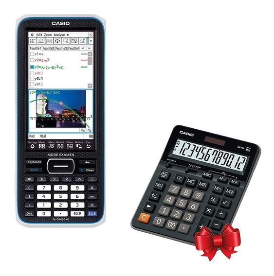 Graficadora Casio Fx-cp400 + Calculadora De Regalo