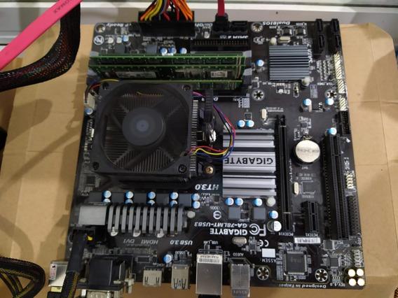Kit Placa Mae Processador Fx 8320e E 8gb Memória