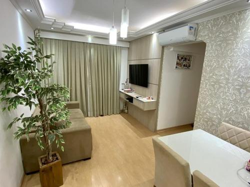Apartamento Condomínio Residencial Ouro Verde Parque Dom Pedro Ii 2 Dormitórios Reformado - Ap022 - 69182122
