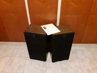 Bafles 2 Unidades, Sony Caja Madera (japan)