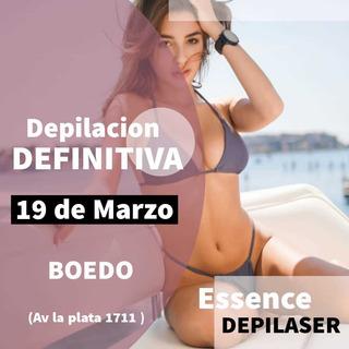 Depilación Definitiva Láser Soprano Ice 1 Sesion Boedo