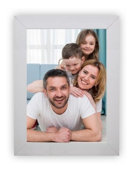 Kit Com 12 Porta Retrato 15x21 A5 Moldura Madeira Decoração Casa Lembrancinha