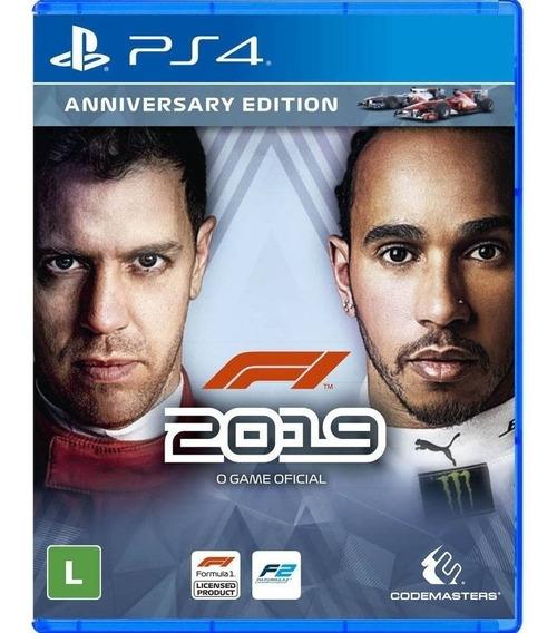 F1 2019 (fórmula 1 2019) Ps4 Mídia Física Lacrado Pt Br
