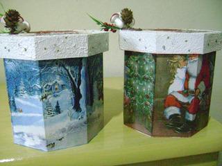 Porta Panetone Natal