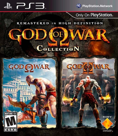 God Of War Collection Ps3 - Midia Digital