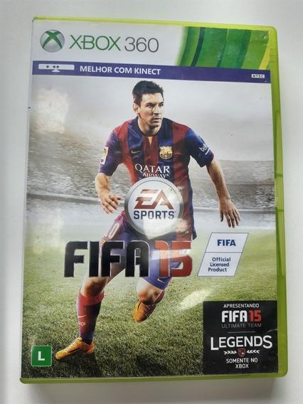 Fifa 15 Em Português Original Mídia Física Xbox 360