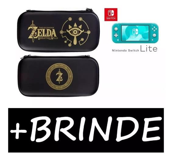 Case Nintendo Switch Lite Zelda Link + Película Brinde :)