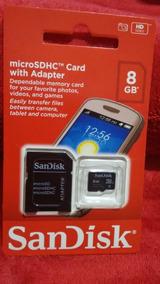 Cartão De Memória 8 Gb Sandisk