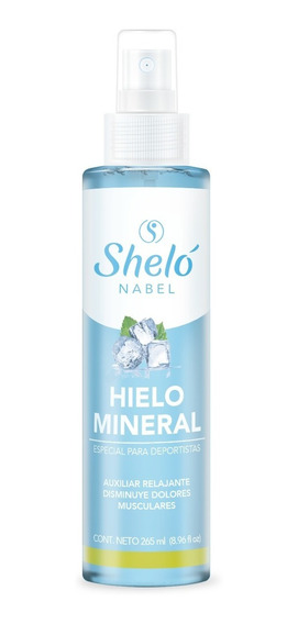 Hielo Mineral Dolores Musculares Relajante Auxiliar Shelo