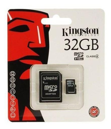 Cartão De Memória 32gb Kingston Novo