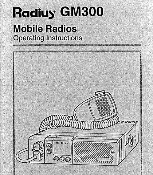 Manual E Esquema Elétrico Radio Motorola Gm300
