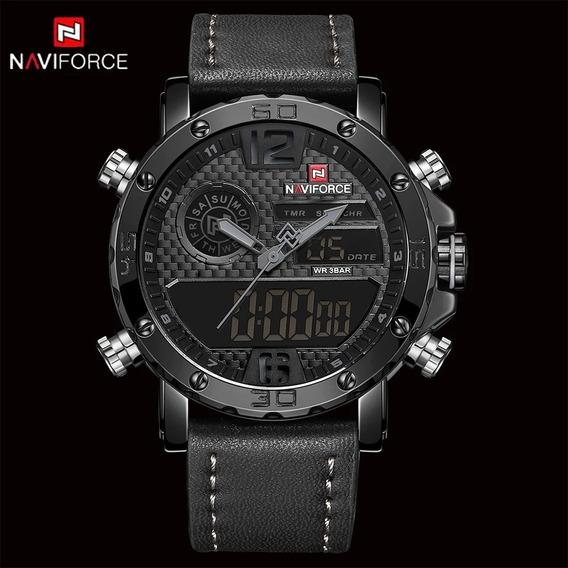 Relógio Naviforce 9134 Masculino Esportivo Militar Promoção