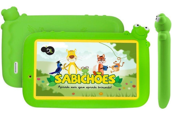 Tablet Dl Sabichões Kids Tela 7 8gb Wi-fi Bluetooth