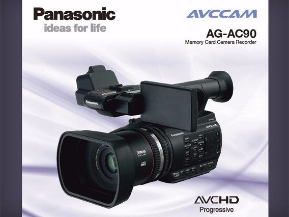 Filmadora Panasonic Ag Ac-90