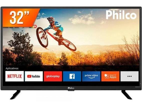 Smart Tv Led 32 Hd Philco Pvt32g52s 2 Hdmi 1 Usb Wi-fi Com