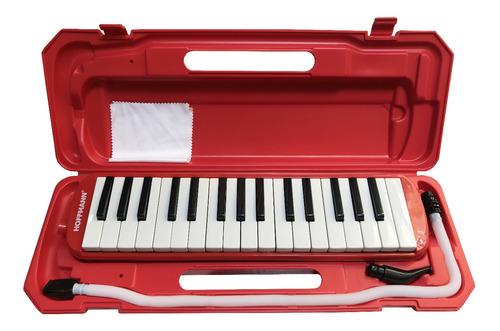 Pianica Melódica Hoffmann Ytm-32a Rd Rojo Con Estuche Nueva