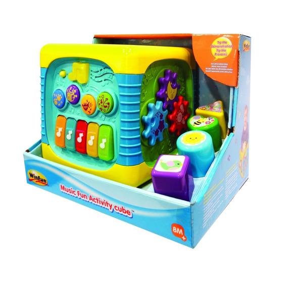 Brinquedo Musical Colorido Para Menino Menina Presente Aniversário Bebê Com Teclado Piano Sonoro
