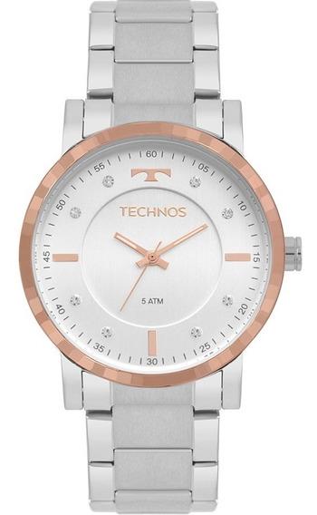 Relógio Technos Feminino 2036mjp/1c Original C/ Nota Fiscal