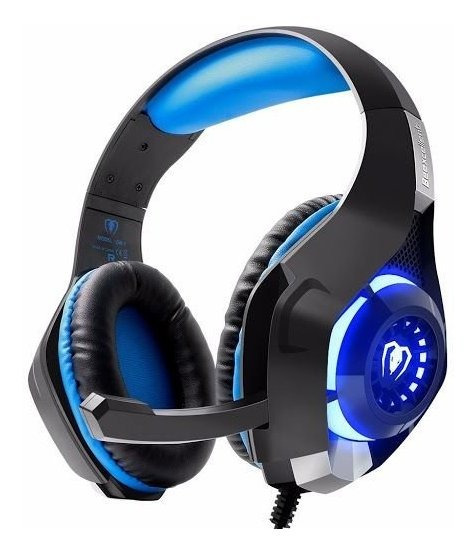 Fone Headphone Gamer Plug P3 C/ Mic. E Led Beexcellent Gm-1
