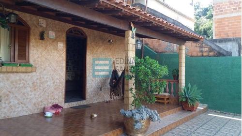 Imagem 1 de 15 de Edinaldo Santos - Casa De 2/4 Com Terraço Coberto E 3 Vagas De Garagem - 961