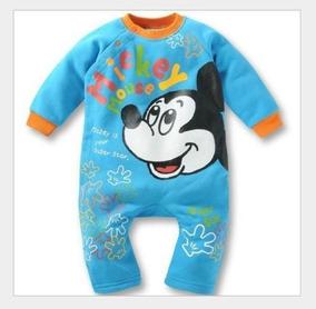 Macacao Roupa Bebe Infantil Disney Malha Varios Modelos