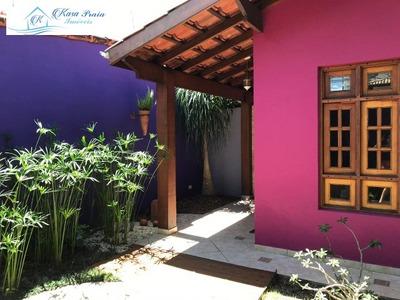 Casa (sobrado) Para Venda No Indaia Em Caraguatatuba 100 Metros Da Praia - Ca00605 - 33799645