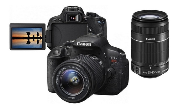 Camera Canon T5i Completa E Cartão De 32gb