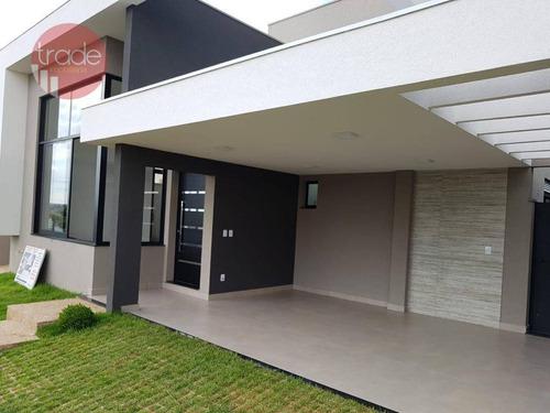 Casa Com 3 Dormitórios À Venda, 186 M² Por R$ 1.280.000,00 - Bonfim Paulista - Ribeirão Preto/sp - Ca3815
