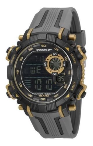 Relógio De Pulso Speedo C/ Caixa E Pulseira De Plastico