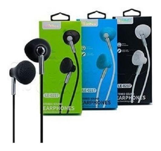 Kit 10 Fone Com Microfone Stereo Earbuds Lelong Le0217 Nfe