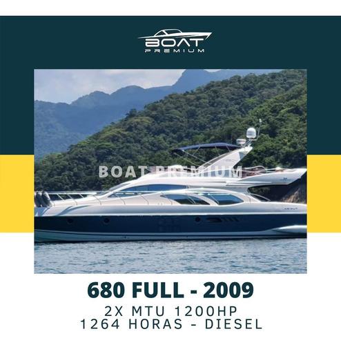 Imagem 1 de 7 de 680 Full, 2009, 2x Mtu 1200hp - Ferretti - Atlantis