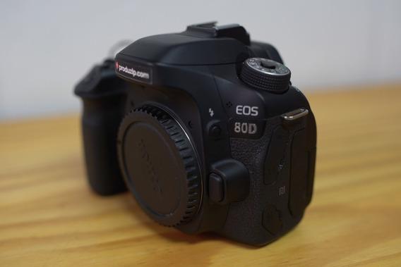 Câmera Canon Eos 80d Somente Corpo