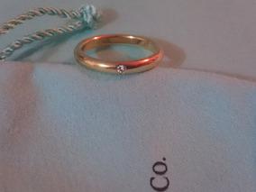 2417d598a91f Argolla Tiffany co. Elsa Peretti C diamante Oro Amarillo 750