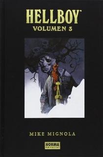 Comic Hellboy Edicion Integral Vol. 03 - Mike Mignola