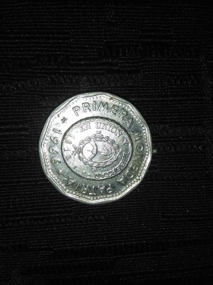 Primera Moneda Patria 1966 Y 1967(1 De Cada Año)