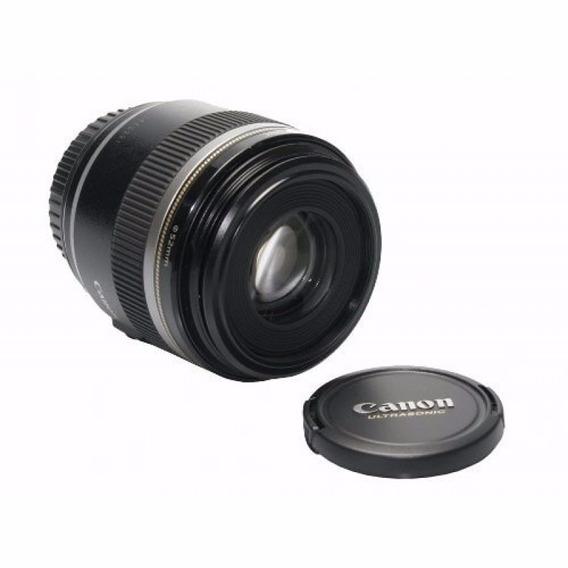 Lente Macro Original Canon P/ Câmeras Reflex Eos - Ef-s60mm