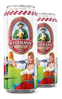 Cerveza Negra 500 Ml Cerveza Alemana Weidmann Dunkel