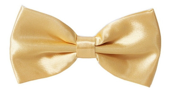 Corbata Tipo Moño Pajarita Liso Adulto Hombre Mujer Colores