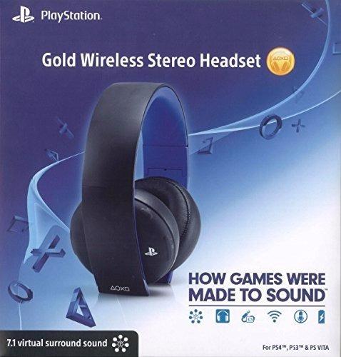 Headset 7.1 Sony (headset Gold Sem Fio Ps4 - Sony)