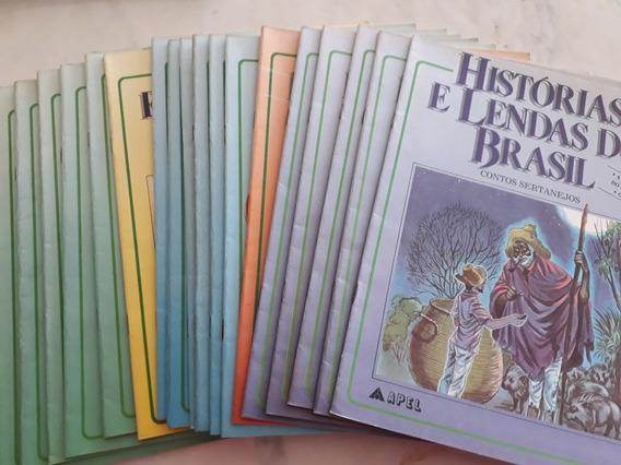 27 Livros Historias E Lendas Do Brasil Vários Contos