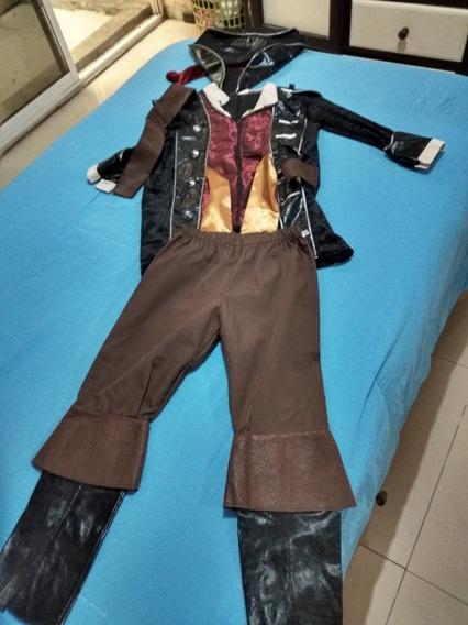 Disfraz De Pirata Para Niño De 4-6 Años.