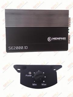 Amplificador Memphis Clase D Se2000.1d 1 Ohm 2000w Max