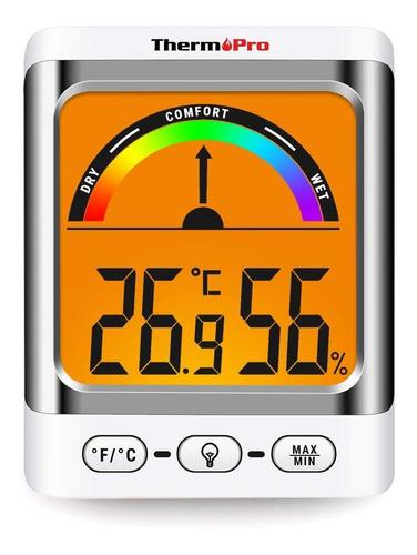 Termómetro Higrómetro Digital Thermopro Tp-52 Humedad Temp