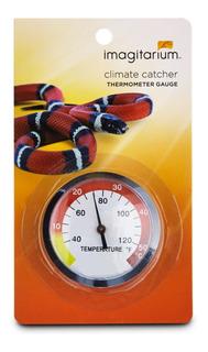 Termometro Circular Terrario Reptil Incubadora Durable