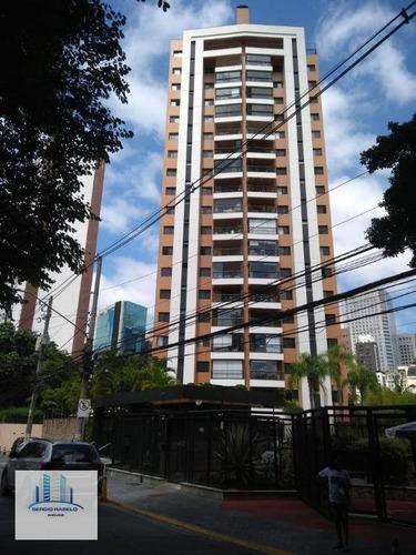 Imagem 1 de 30 de Apartamento Com 3 Dormitórios Para Alugar, 100 M² Por R$ 5.300,00/mês - Brooklin - São Paulo/sp - Ap3802